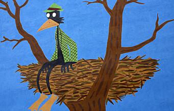 Hvordan havnet fuglemannen til den verdenskjente tegneserietegneren Jason på en Tøyen-vegg?