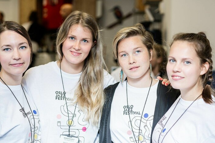 Den finske gruppe Signe kom fra turne i skjærgården til konsert i Oslo fengsel. fv. Josefiina Vannesluoma Riikka Keränen, Kaisa Mäensivu og Selma Savolainen. Foto: Stine Raastad