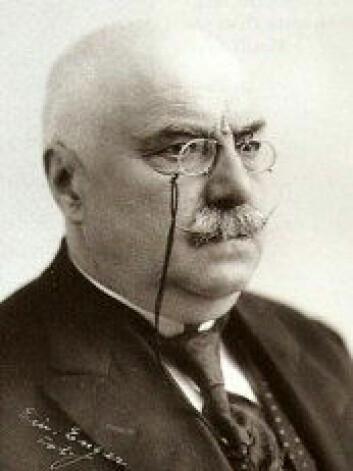 Komponist Hjalmar Borgstrøm. Foto: Wikipedia