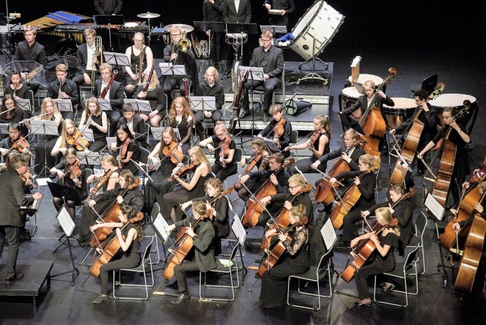 Norsk Ungdomssymfoniorkester. Foto: Stian Green