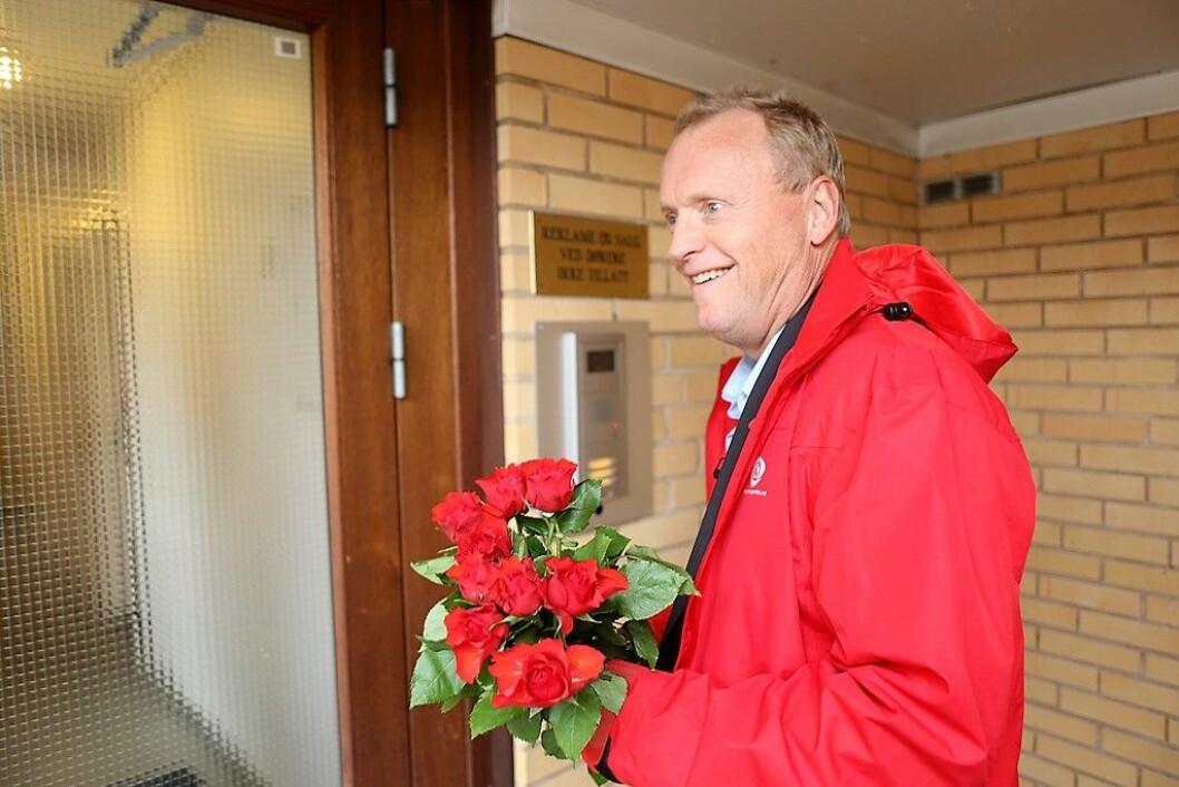 Raymond Johansen har brutt løftene om eienndomsskatt, mener Henrik Asheim (H). Foto: Bernt Sønvisen