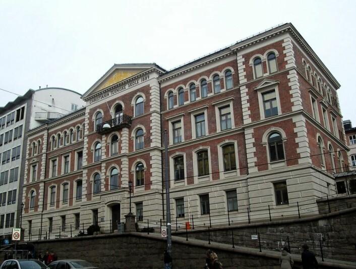Her, på Christiania tekniske skole, skal ungdomsskoleelevene fra Ruseløkka skole gå i byggeperioden til den nye skolen.