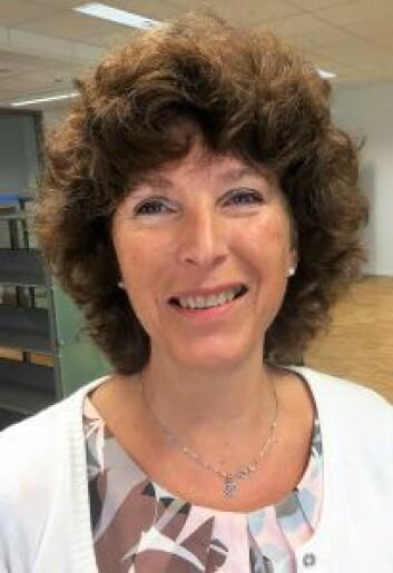 Valle Hovin videregående sin første rektor, Trine Øiseth. Foto: Vegard Velle