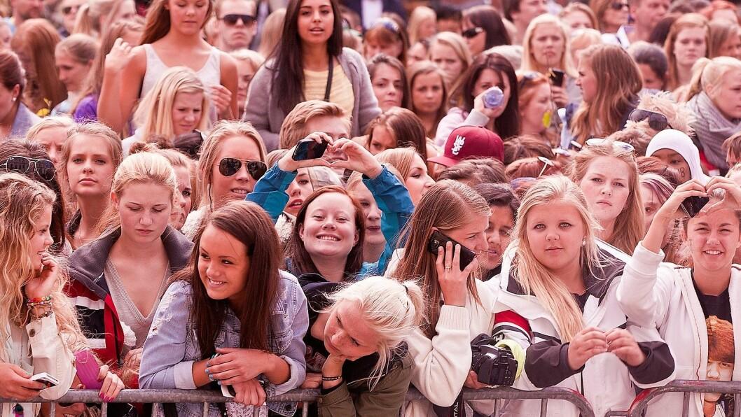 Mennesker i Oslo. Foto: Nrk P3.