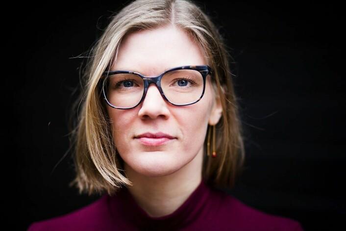 Maria Sneve er økonom og nestleder i Rødt. Foto: Andre Løyning/Wikipedia
