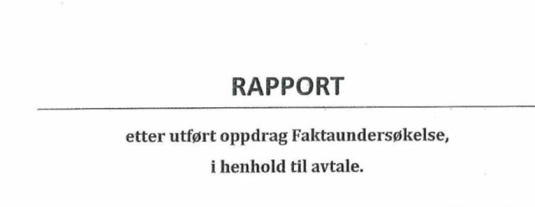Fra rapporten Tinia AS har laget for bydel Grunerløkka, om den varslede mobbesaken i barnevernet. Foto: Skjermdump