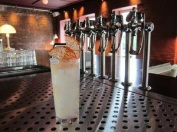 Drink som heter Dill, laget med dillaquavit. Foto: Susanne Skaug/VårtOslo