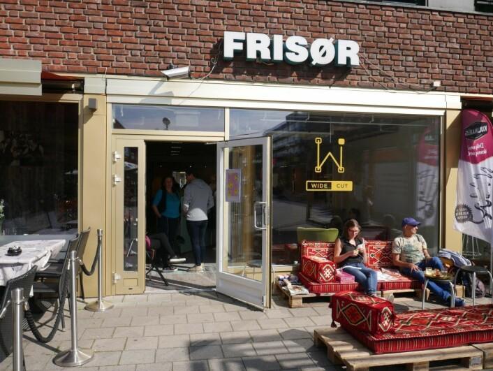 Pop-up-salongen til Wide-Ink på Tøyen. Foto: Lena Haugland