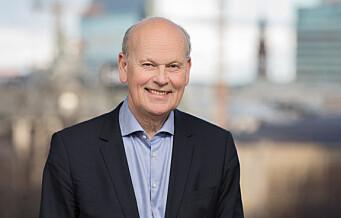 Michael Tetzschner (H) vil bidra til byutviklingen i Oslo gjennom t-baneutbygging og å avvise et gigantisk regjeringskompleks