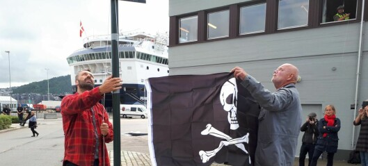 Oslo havn får stempelet pirathavn. Havna risikerer nå å tape millioner