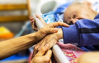 – Sykepleiere forteller at de ikke alltid rekker å gi smertelindrende medisiner til beboere som trenger det