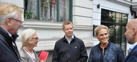 Frp støtter beboere – vil stanse flytting av Briskeby-trikken til Skovveien