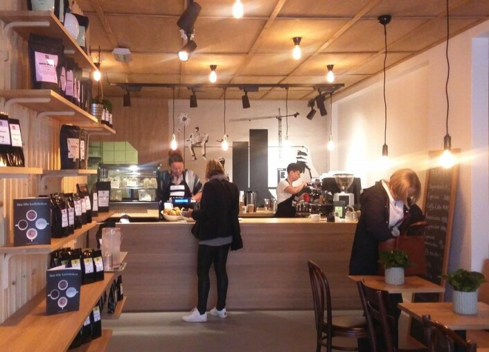Kaffebaren =Kaffe. Foto:Irina Tanase