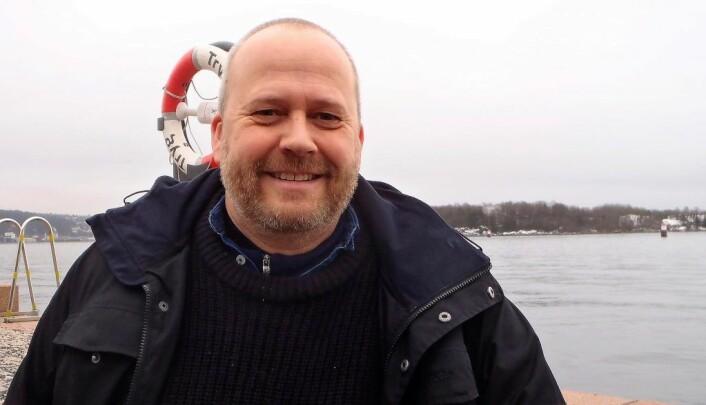 Lars Dalen og Marinrepratørene har synspunkter på hvordan n forvaltningsplan for Oslofjorden bør være. Foto: Anders Høilund