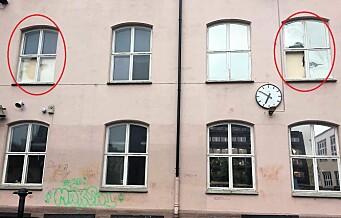 Naboer rystet over at politiet får slå inn dører og knuse vinduer på Ruseløkka skole mens det ennå er strid om skolens fremtid
