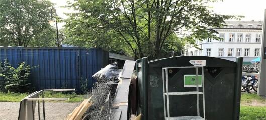 – Miljøstasjonen i Sofienbergparken bør flyttes. Den hindrer park i å være park