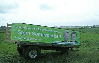 – At Senterpartiet skal være et godt valg for oslofolk, er det vel få som tror på