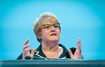 Trine Skei Grande (V) vil ha bedre sosiale ordninger for gründere og småbedrifter