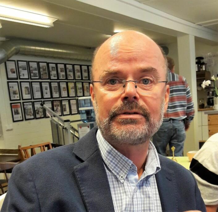 Sverre Furuholmen-Jenssen er en engasjert daglig leder for Fontenehuset Tøyen. Foto: Anders Høilund