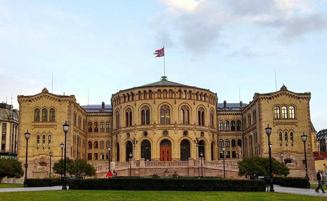 De første valgresultatene er klare. Foto: Andreas Haldorsen/Wikipedia