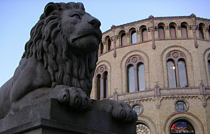 I morgen skal det avgjøres hvem som kommer inn på Stortinget. Foto: John Erling Blad/Wikipedia