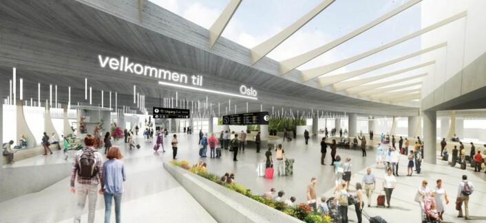 Oppgraderingen av Oslo bussterminal er planlagt ferdig før sommeren 2019. Foto: Tegn_3