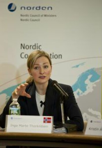 Inga Marte Thorkildsen. Foto: SCANNEWS.NET/Wikipedia