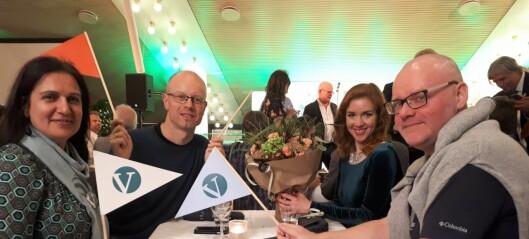 Etter halvt års innsats og 3000 dørbank fikk Frogner Venstre belønningen. Partiet brøt sperregrensa