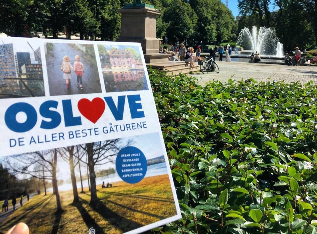 """Boka """"Oslove"""" guider deg til hele 55 gåturer i Oslo! Foto: Hanna Norberg"""