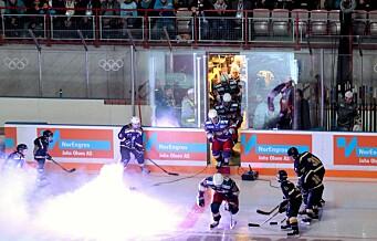 Kommunikasjonsrot truet Vålerenga hockeys første hjemmekamp i Furuset forum
