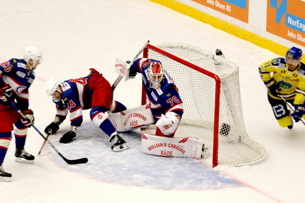 Tøff seriestart for Vålerenga hockey. Tre ettmåls tap på tre kamper. Foto: Atle Enersen