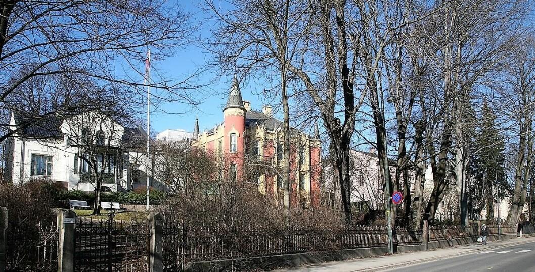 I gamle dager var hagene mot Josefines gate et smykke i byen. Nå er de ikke mye å se på. Foto: Vegard Velle