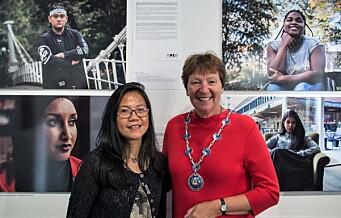 Osloungdom med minoritetsbakgrunn gir integreringen et ansikt gjennom ny fotoutstilling