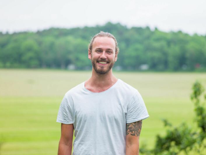Markus Brun Hustad, prosjektleder for Økouka i Oslo.