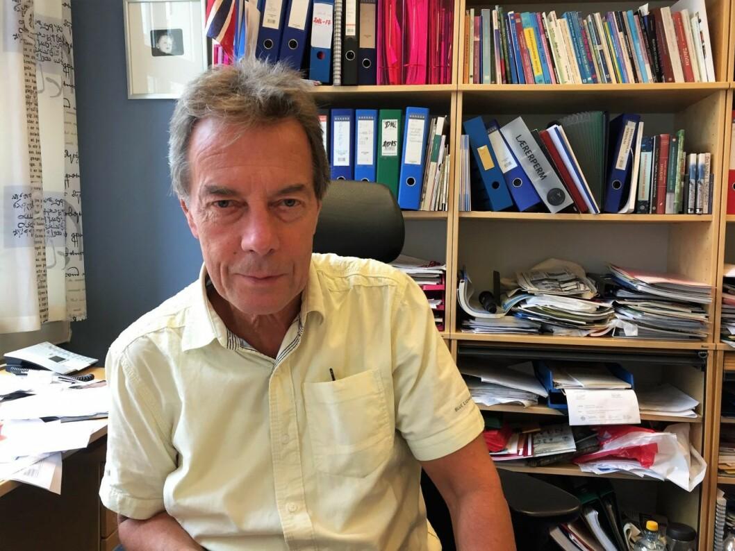 Terje Andersen er rektor ved Tøyen skole. Foto: Vegard Velle