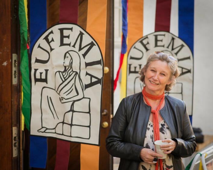 Kunstnerisk leder av Eufemiadagene, Gro Siri Ognøy Johansen. Foto: Georg Oppermann Moe