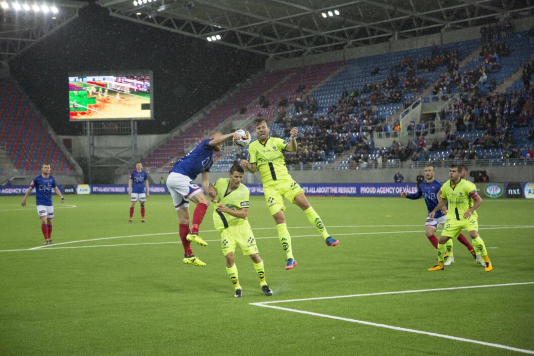 Sarpsborg mot Valerenga, semifinale i cupen. Foto: Adriana Sørheim