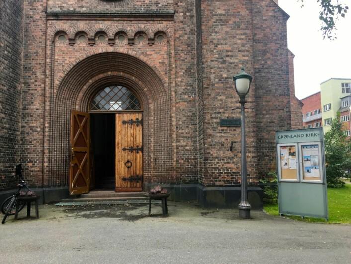 Grønland kirke. Foto: Live Drønen/VårtOslo