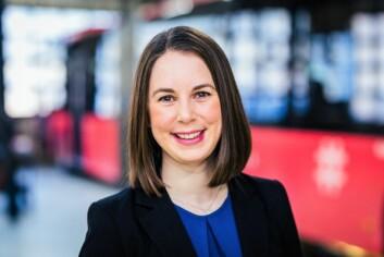 – Vi skal ikke ha rasisme på våre busser, sier kommunikasjonssjef i Unibuss, Ina Helen Østby. Foto: Unibuss