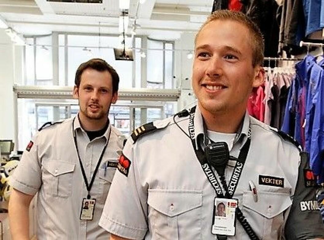 – Våkne vektere ved Oslo legevakt redder ofte liv, sier sykepleier Vegard Ek. Illustrasjonsfoto: Lise Åserud / Scanpix