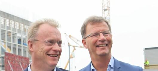 Tidenes oslobudsjett slippes i dag: Eiendomsskatten gir Raymond og Robert nærmere 700 millioner mer å boltre seg med