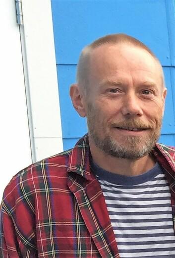 Styreleder ved kulturhuset Hausmania, Gunnar Gram Franck. Foto: Vegard Velle