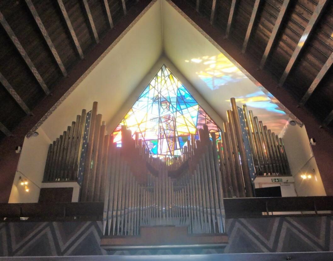 Orgelet i Torshov Kirke er vakkert, men kan ikke lenger brukes. Foto: Anders Høilund