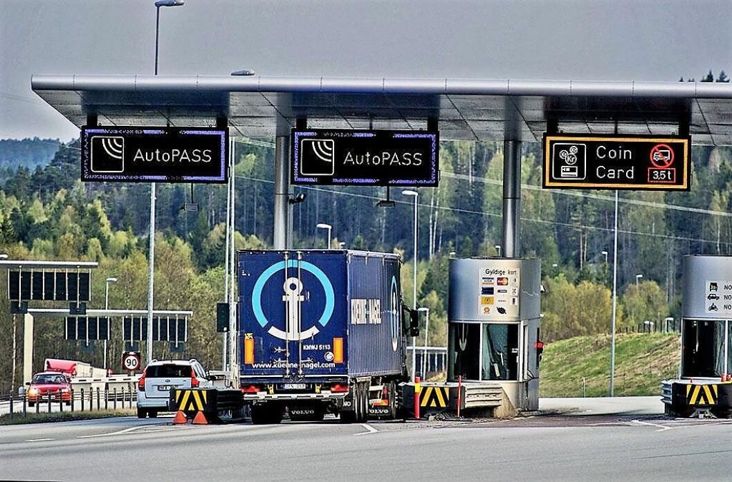 Rushtidsavgiften ble innført 1. oktober i år. Foto: Norges lastebileierforbund