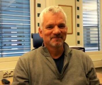 John Erik Melby, i Oslo bygningsarbeiderforening, ser et økende behov for fagfolk og mener det burde krydd av lærlinger i malerfaget i Oslo. Foto: Anders Høilund