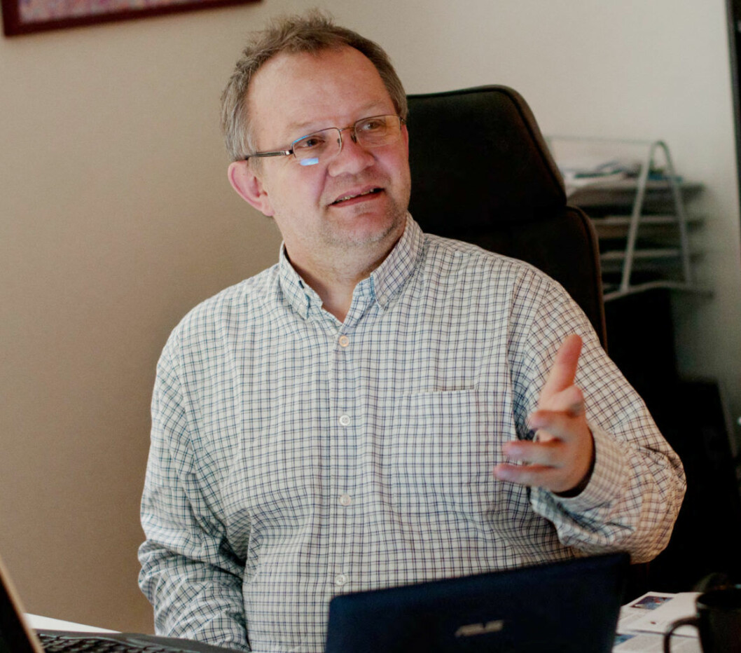 Daglig leder i Leieboerforeningen, Lars Aasen, får ikke kuttet sitt kommunale driftstilskudd neste år.. Foto: Kirsten Randers-Pehrsson