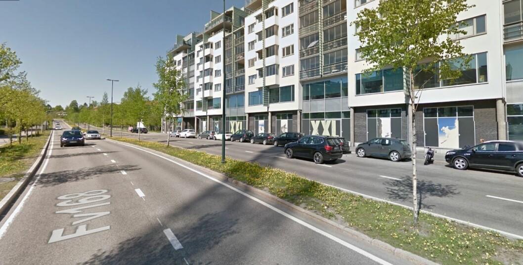 I Sørkedalsveien, ved Colosseum kino, blir det sannsynligvis bomstasjon. Foto: Google maps