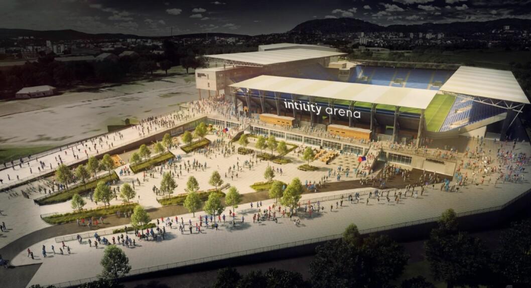 Vålerenga Arena på Valle har fått det nye navnet Intility arena.