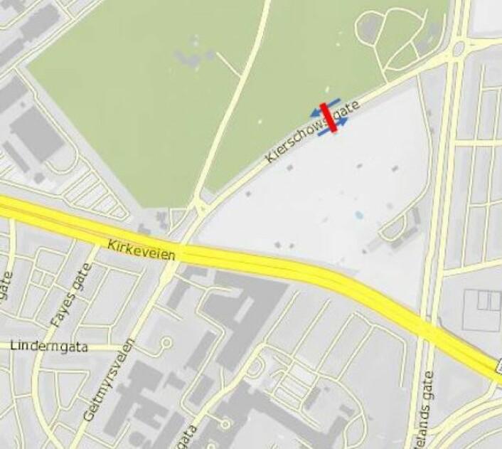Foreslått bomstasjon i Kierschows gate: Statens vegvesen
