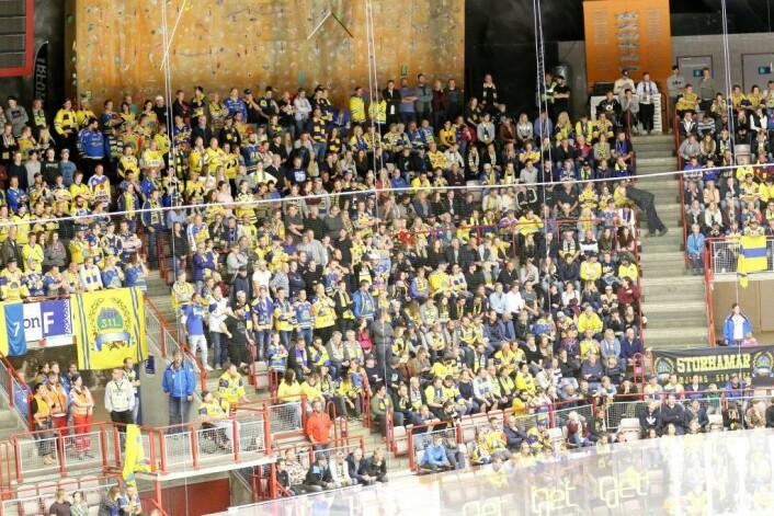 Storhamar-fansen. Foto: Atle Enersen